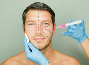 Younger men seek out plastic surgery in the hope of becoming more masculine-looking.